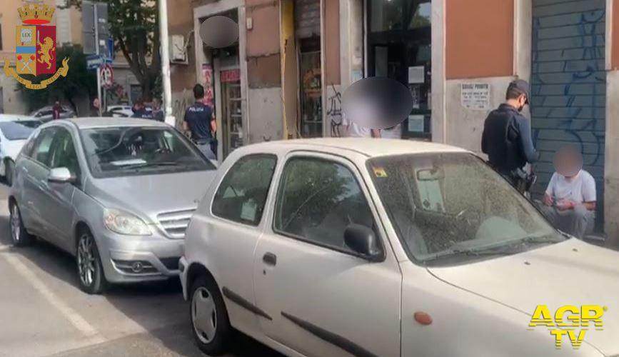 Giro di vite della polizia, nel mirino: Garbatella, San Paolo e Colombo
