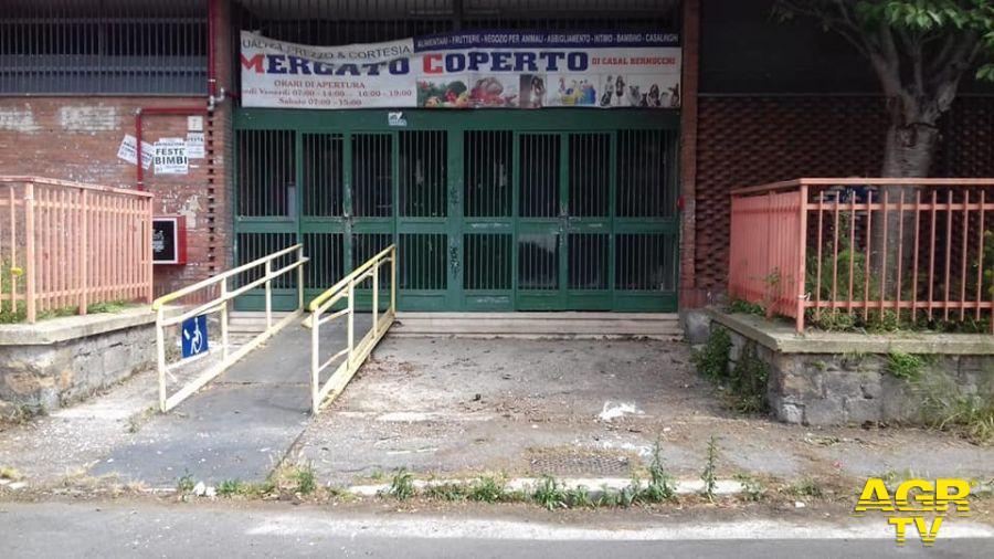 Municipio X, al via la riqualificazione del mercato coperto di Casalbernocchi