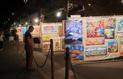 Lorenzo Viani espone i quadri da via dei Misenati al web