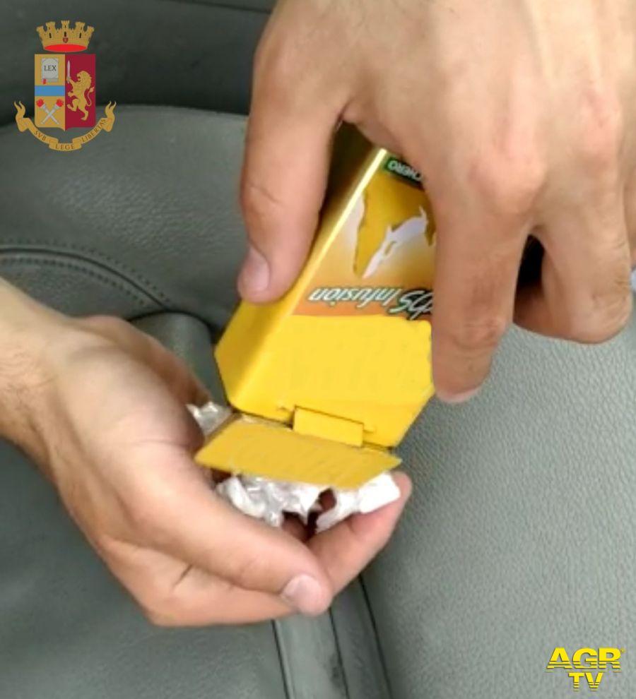 droga contenuta pacchetto sigarette