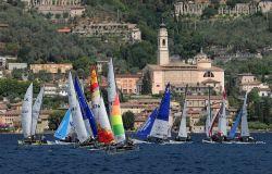 Il lago di Garda, baricentro della vela italiana