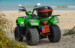 Fiumicino, spiagge sicure con Quad e moto d'acqua