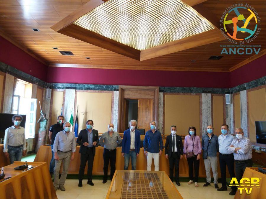 Il Sindaco di Latina Damiano Coletta incontra i Coordinatori del Controllo Di Vicinato di Latina Scalo