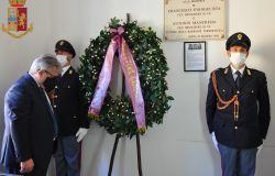 40° Anniversario dell'uccisione dell'appuntato di P.S. Francesco Evangelista, vittima di un commando terrorista dei NAR