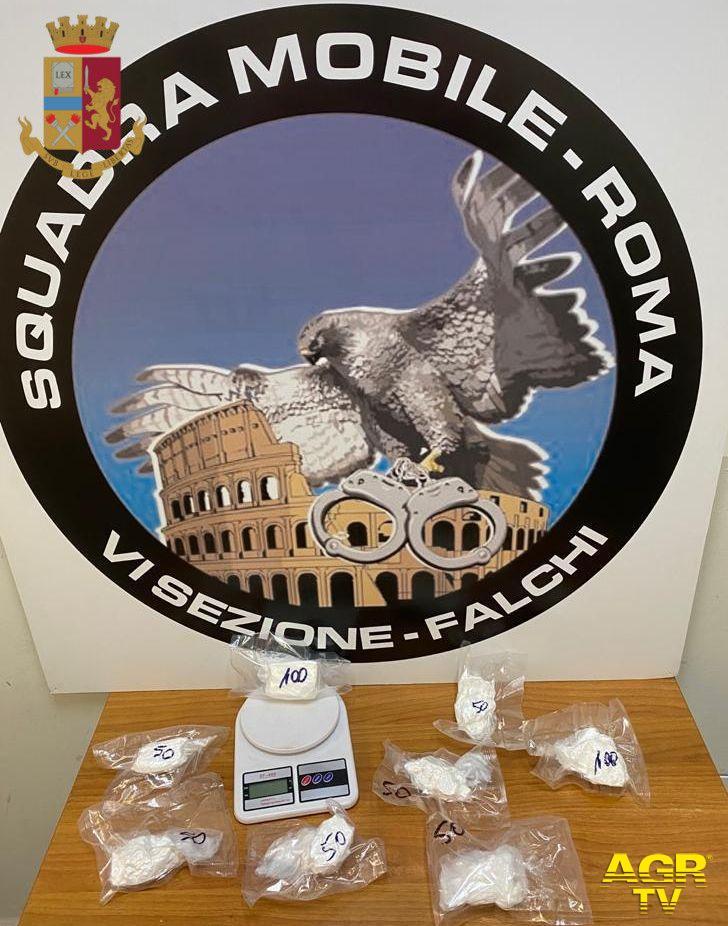 Polizia, operazione anti-spaccio in tutta Roma, 26 in manette