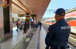 Polfer,oltre 5 mila persone controllate sui treni