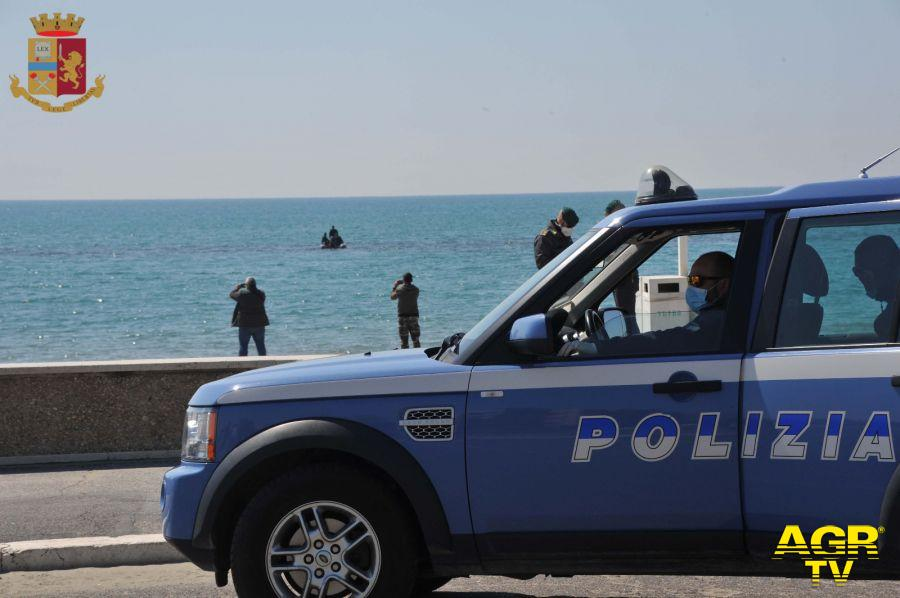 Ostia&Fregene, nel mirino della polizia spiagge e movida