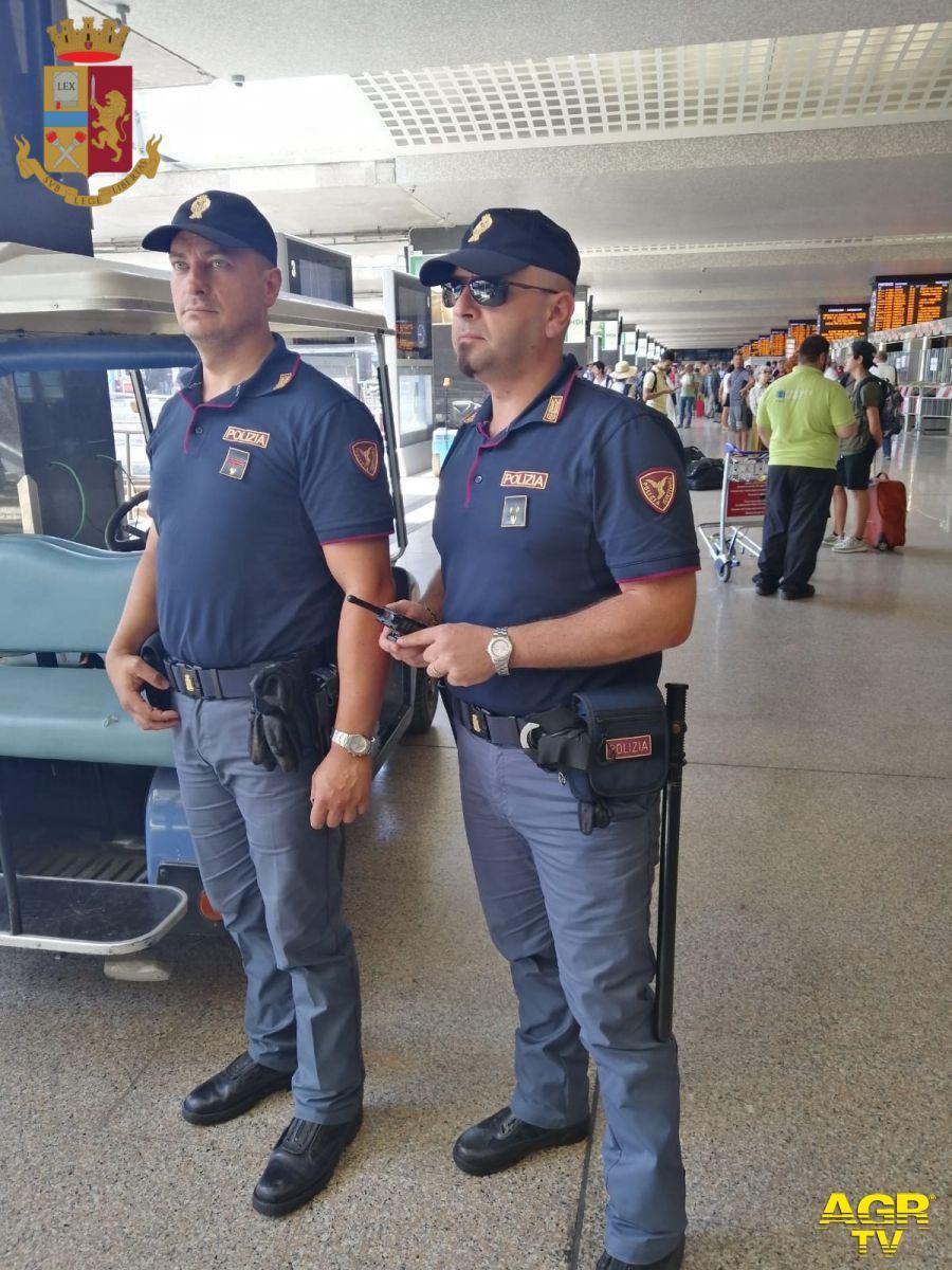 Polizia, arresti sui treni