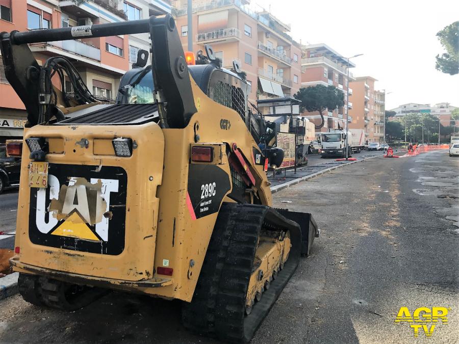 Municipio X, via libera in Giunta ai nuovi interventi sull'asfalto