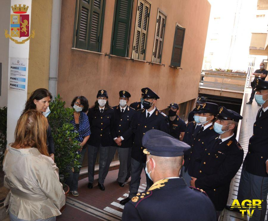 v.questore Rossella Matarazzo ricorda la figura dell'agente scomparso