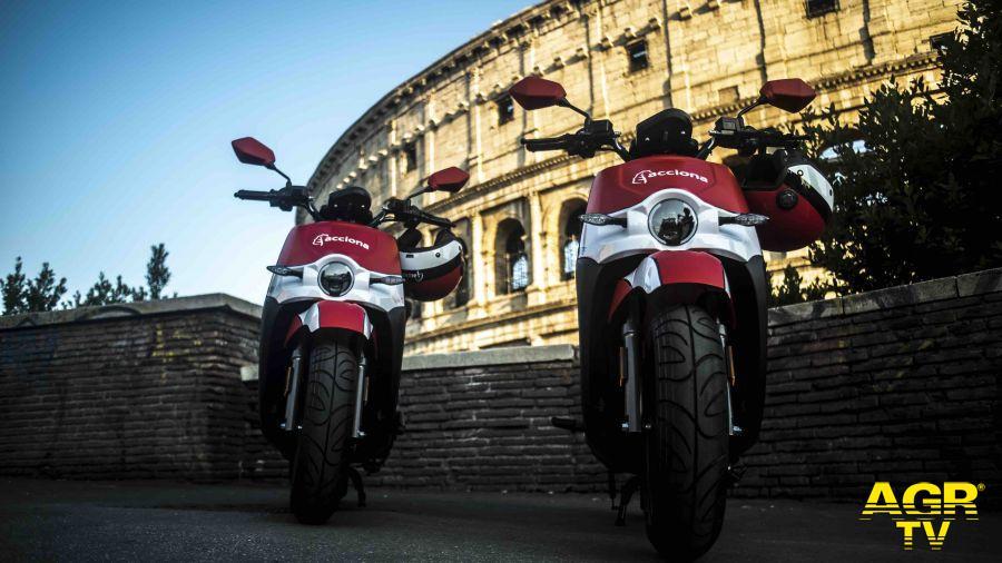 500 moto elettriche per lo scooter sharing a Roma
