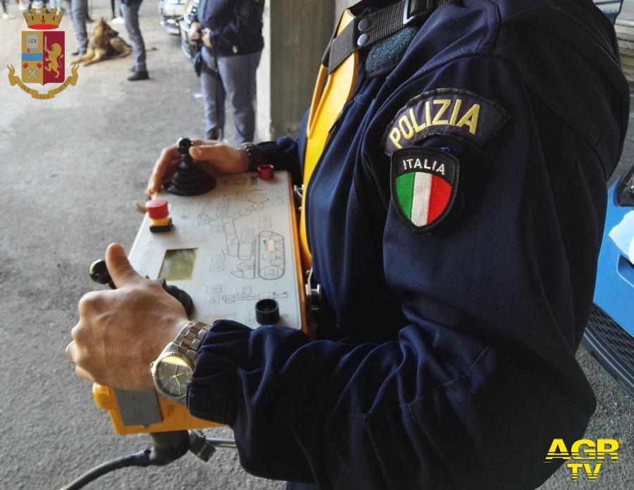 Anzio, la polizia confisca beni per oltre un milione di euro