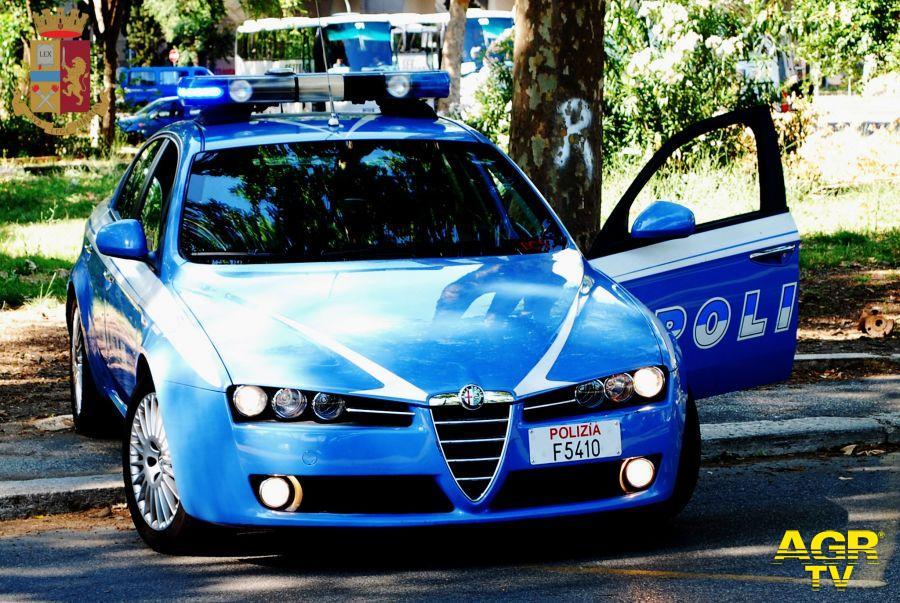 Roma, controllo del territorio, un arrestato e due denunciati dalla Polizia di Stato
