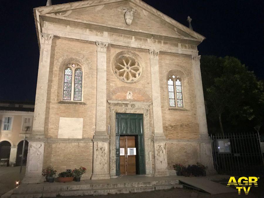 Il Borgo di Ostia Antica risplende di nuova luce - Chiesa di Sant'Aurea