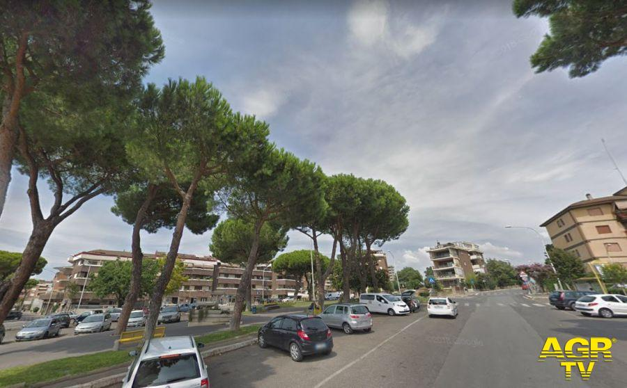 AXA, Piazza Eschilo