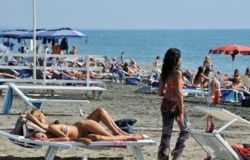 Spiagge affollate...ma solo nel week end