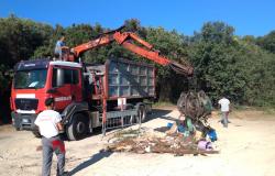 Municipio X, pulizia straordinaria a Castelporziano