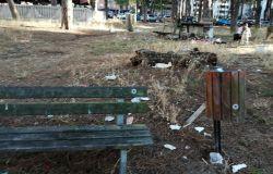 Ostia, Parco Clemente Riva,senza affidamento sprofonda nel degrado