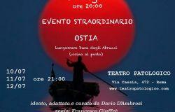 Ulisse sbarca ad Ostia, il teatro Patologico va in spiaggia