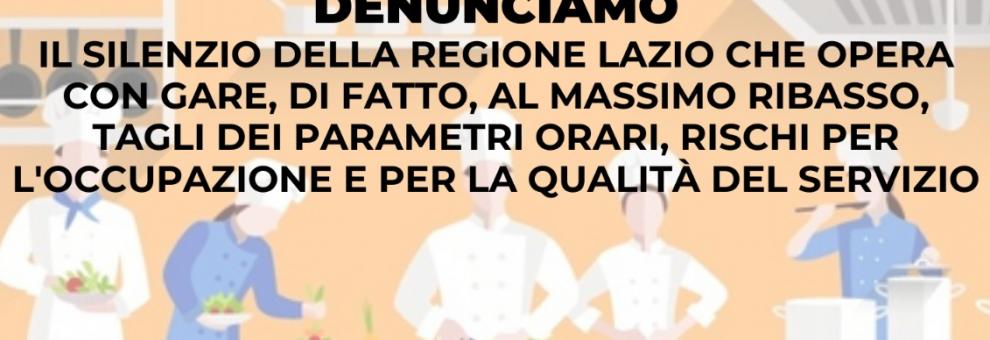Appalti sanità Lazio, sindacati: Il 13 luglio assemblea pubblica dei delegati e delle delegate degli appalti delle pulizie e sanificazione