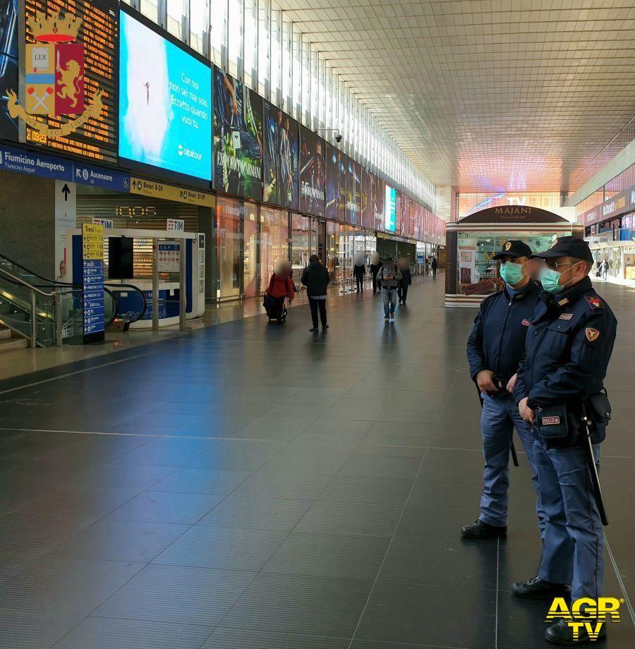 Attività della Polizia di Stato nelle Stazioni Ferroviarie del Lazio