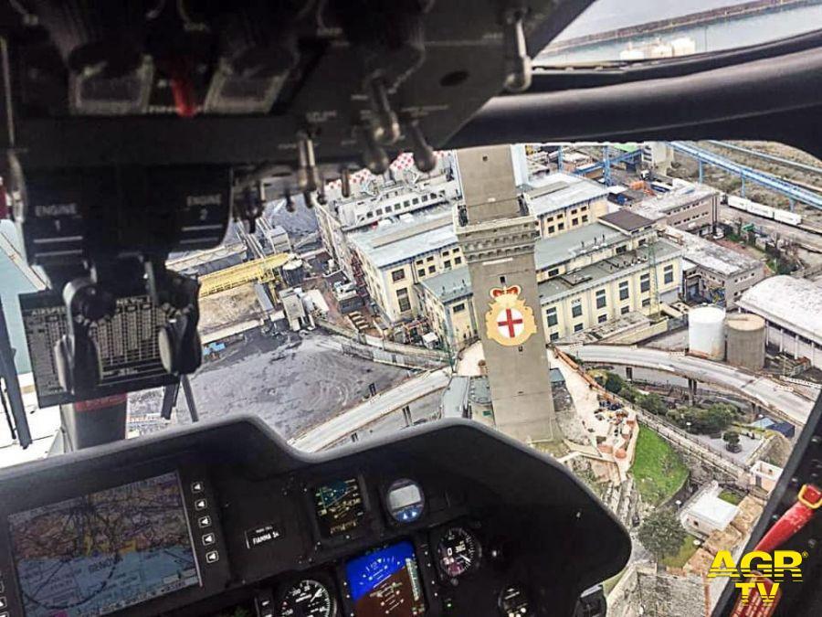 elicottero carabinieri riprese