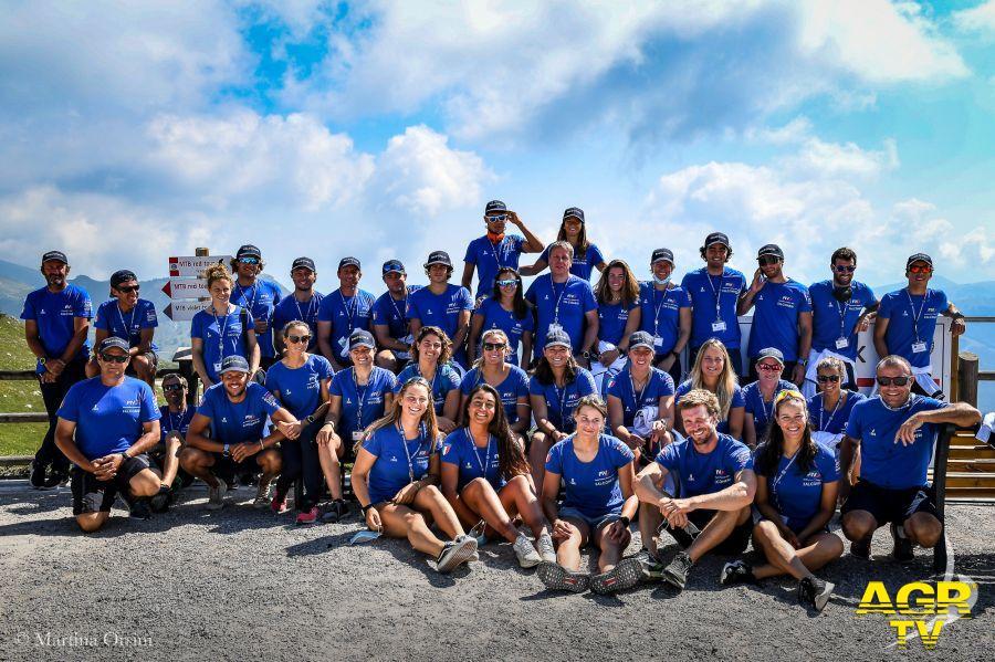 La vela azzurra in ritiro sul Monte Baldo:....i nostri sogni olimpici sono intatti