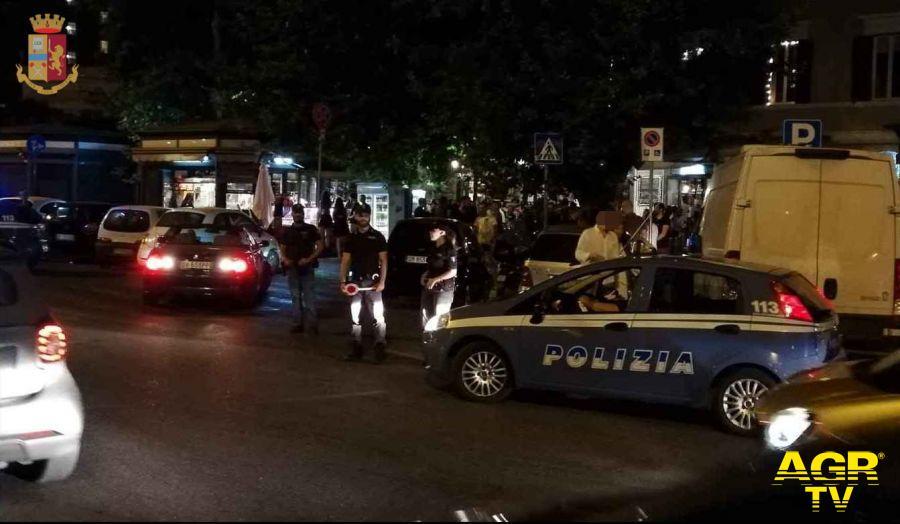 Polizia, duro colpo allo spaccio nella capitale