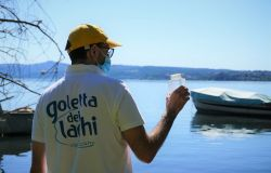 La Goletta dei Laghi di Legambiente dal 25 al 30 luglio nel Lazio sui laghi di Bolsena, Bracciano, Vico, Albano, Sabaudia, Fondi, Fogliano e Canterno