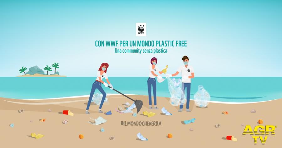 Fai da te contro la plastica in mare...il WWF inaugura una nuova community