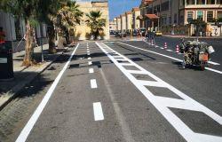 Municipio X, Pista ciclabile: partiti i lavori sul Lungomare