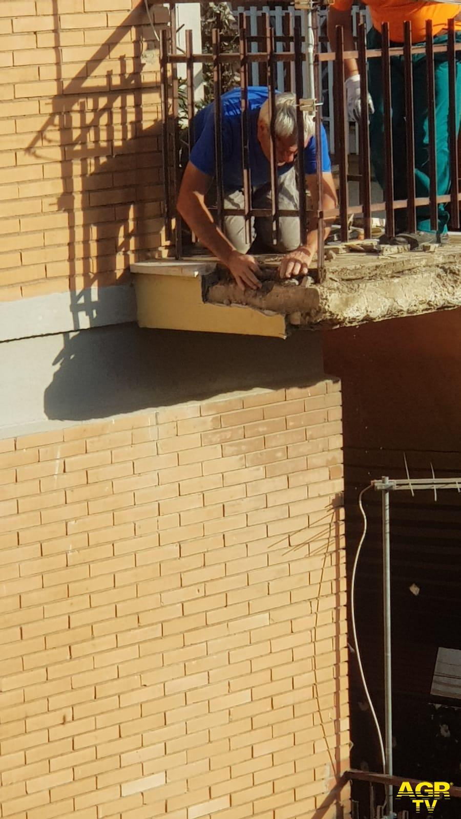 Nuova Ostia, via Forni i lavori iniziano.....solo con un sopralluogo