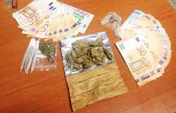 polizia droga e soldi