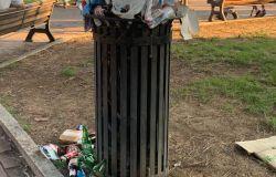I giardini di Acilia....FdI denuncia: raccolta rifiuti da riorganizzare