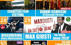 Estate Caerite, in arrivo il Cerveteri Film Festival e Max Giusti con 'Va tutto bene'