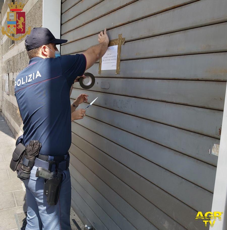Eur e Colombo, locali nel mirino della Polizia