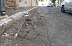 Acilia, via Pietro da Mazzara un rischio per gli abitanti