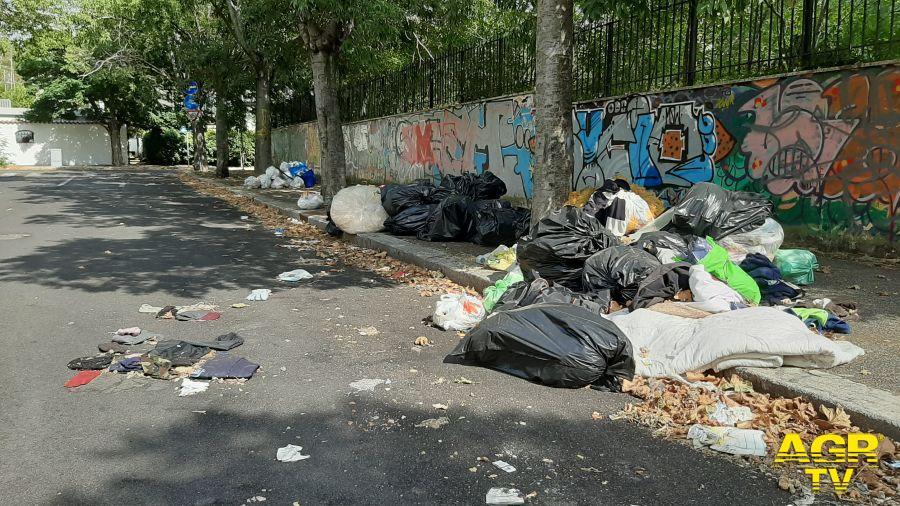 """Municipio X, Raccolta rifiuti: Ieva: """"Al lavoro solo il 35-45% degli operatori Ama"""""""