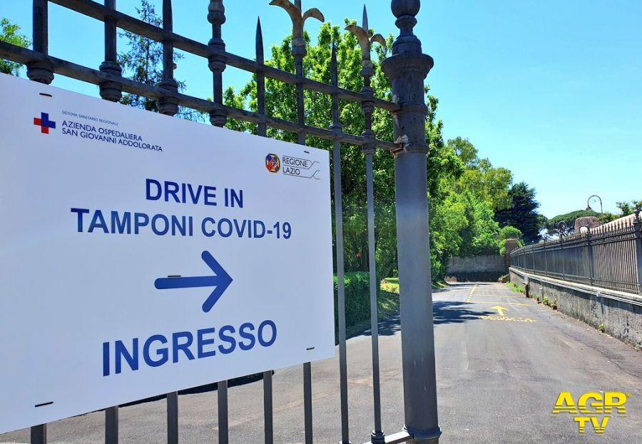 Covd-19, Laboratorio del San Giovanni