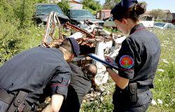 Incendi boschivi, i Carabinieri Forestali alzano il livello d'attenzione, undici piromani in manette