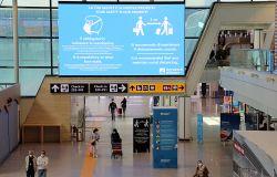 Fiumicino aeroporto, riconosciuto impegno per salvaguardia di viaggiatori e personale aeroportuale