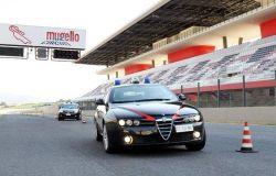 Guida sicura, i carabinieri si addestrano al Mugello