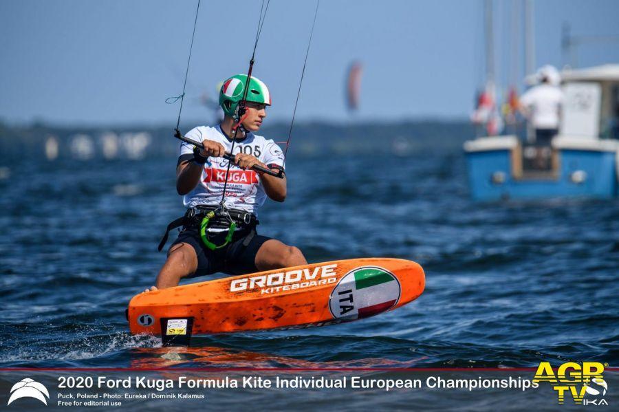 Vela, un bronzo agli Europei under 17 nel kite