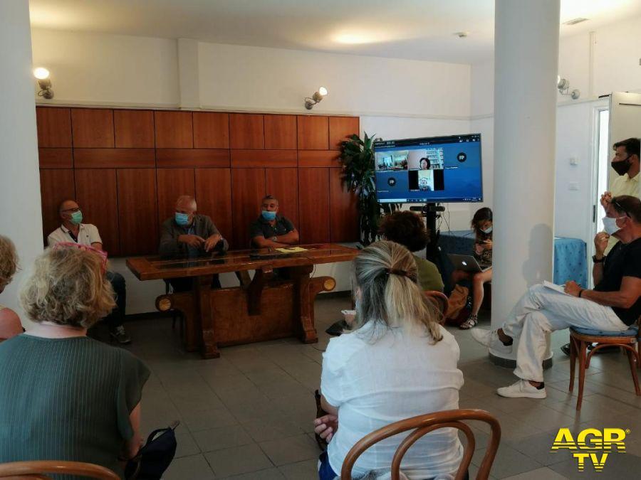 la riunione a Fiumicino