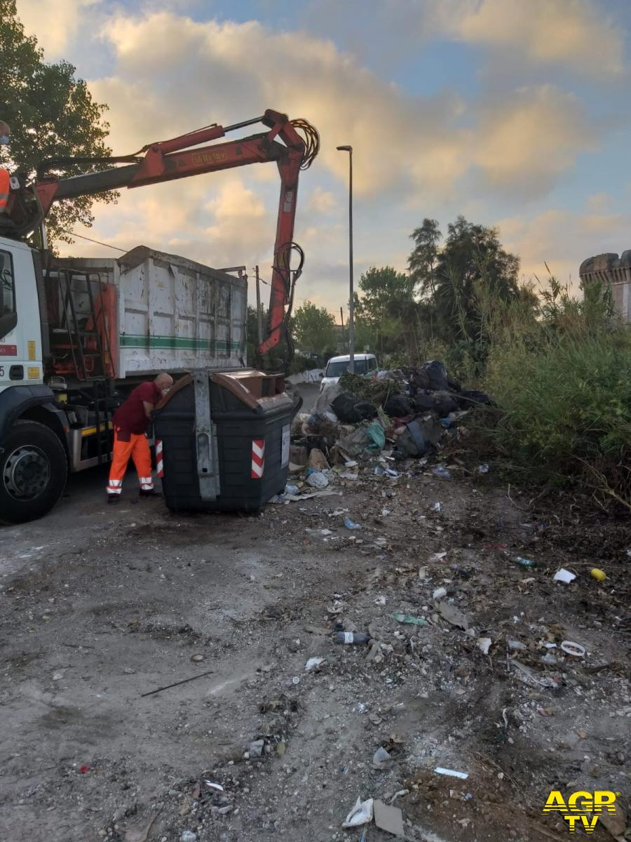 raccolta rifiuti via atlantici