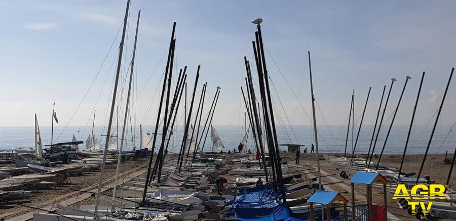 Lega Navale Ostia dove partiranno i partecipanti