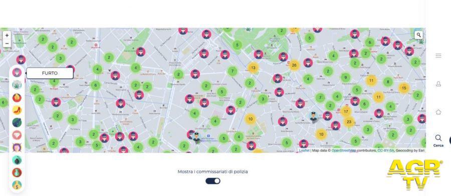Mine Crime: l'osservatorio digitale sulla criminalità delle nostre città