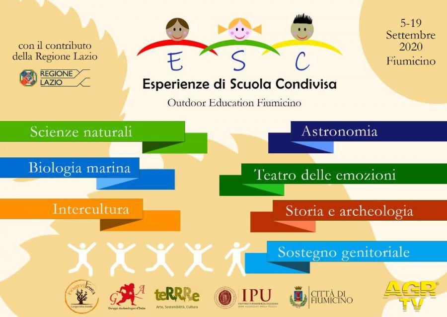 locandina progetto scuola condivisa