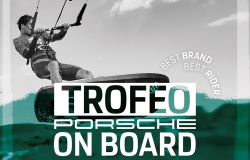 Maccarese, al Rumbla beach il Trofeo Porsche on board di kite surf