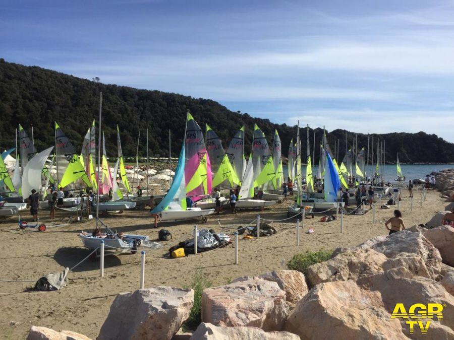 Vela, conclusi a Punta Ala i tricolori giovanili doppi classe RS Feva